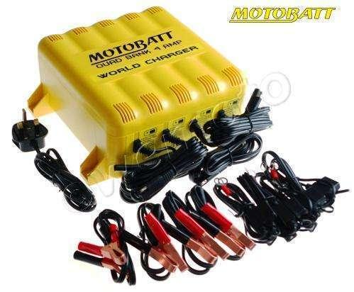 Motobatt Gel batteries and chargers for all motorcycles