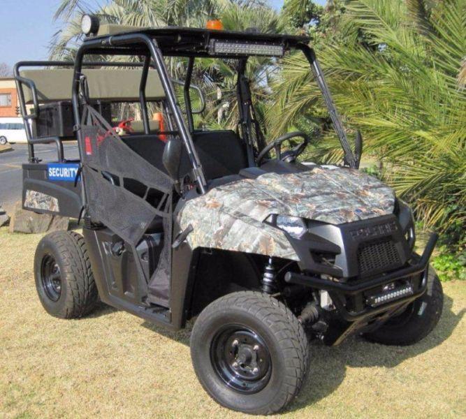 Security Car Polaris Ranger 570 EFI Linhai Raider 700 (road worthy)