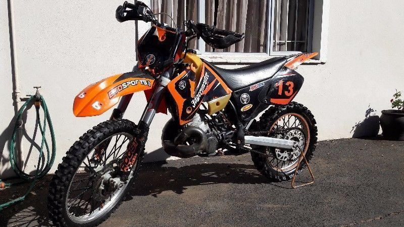 KTM SX, 250cc, 2 stroke