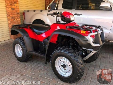 2011 Honda TRX 500 Foreman (LIKE NEW)