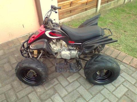 2014 Quad bike Honda 90 cc 4 stroke very good condition!