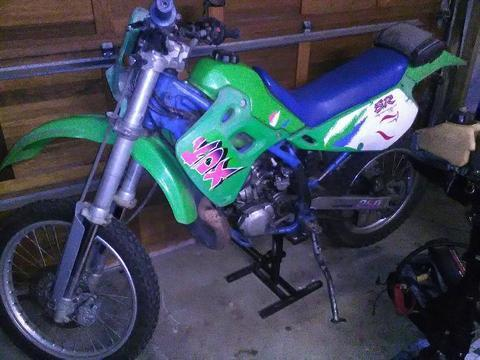 1995 Kawasaki KDX sr 250