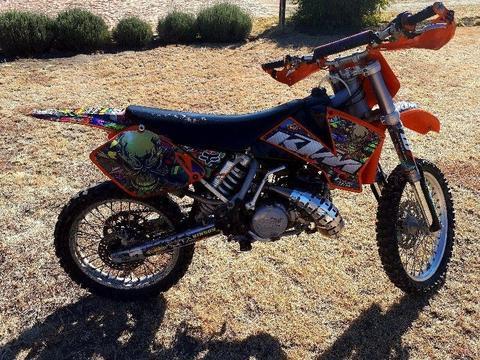Ktm 250cc offroad bike