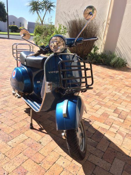 Vespa 150 electric start (LML) with extras