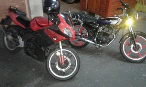 2 MOTOMIA MOTORBIKES