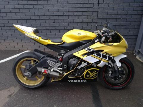 yamaha r6 track bike