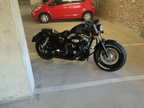 Harley 1200 sportster 48