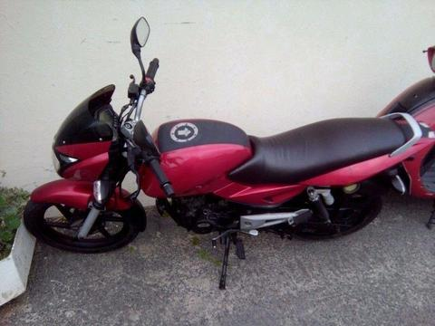 2008 Bajaj Pulsar with Roadworthy for sale or swop for scooter