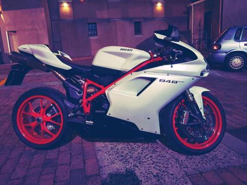 2012 Ducati 848 Evo sale
