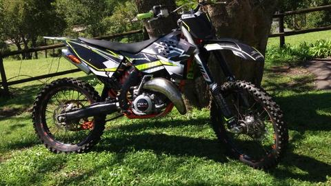 2010 KTM 125 exc for sale