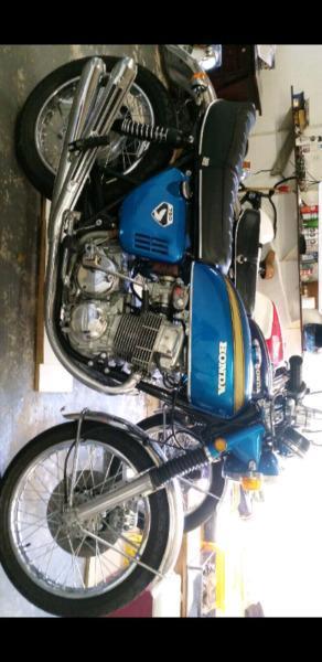 HONDA CB750KO-1970. THE GENUINE M/C,ENTIRELY RESTORED