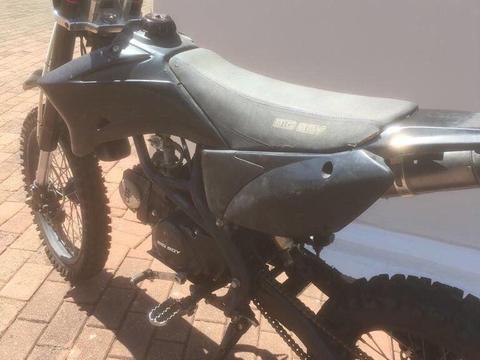 Big boy pit bike 125cc