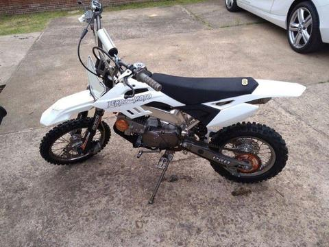 genuine Terra-Moto 125-F to trade or R7500