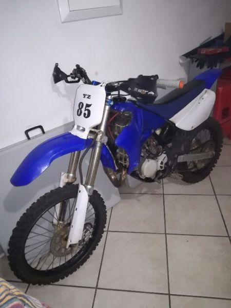 2009 Yamaha Yz85 full fmf exhaust system clesn bike