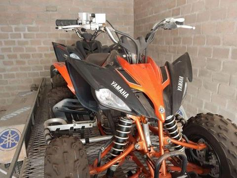 Limited edition Yamaha quad bikes and trailer for sale