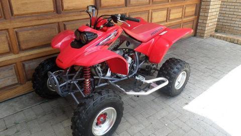 Honda TRX 400 quad ,as new condition