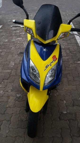 kymco super edition in great condition