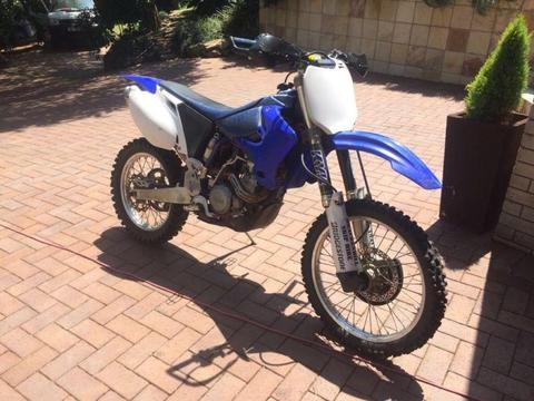 WR250 Yamaha