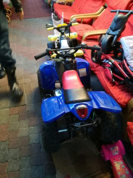 kids quad bike for sale 4 wheeler R3800 or swop swap