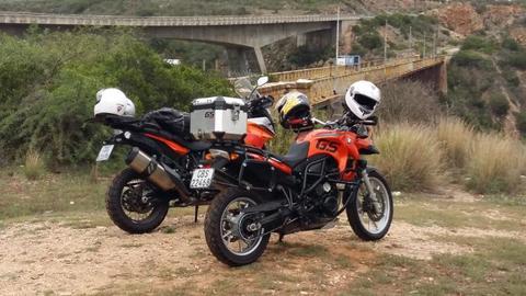 Motorbike BMW