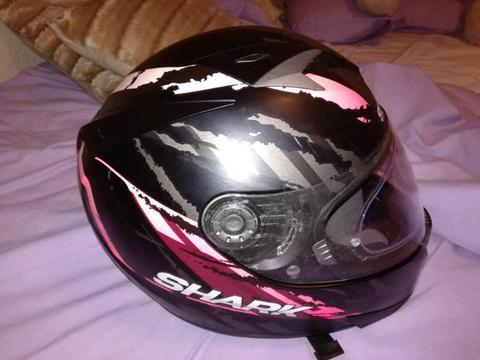 XS Shark helmet