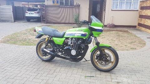1981 Kawasaki GPZ1100 Rebuilt from ground up