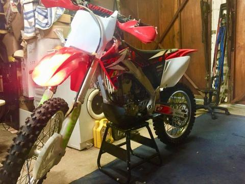 CRF250 Honda motocross motorcycle