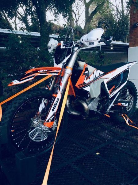 2017 KTM 250cc EXC