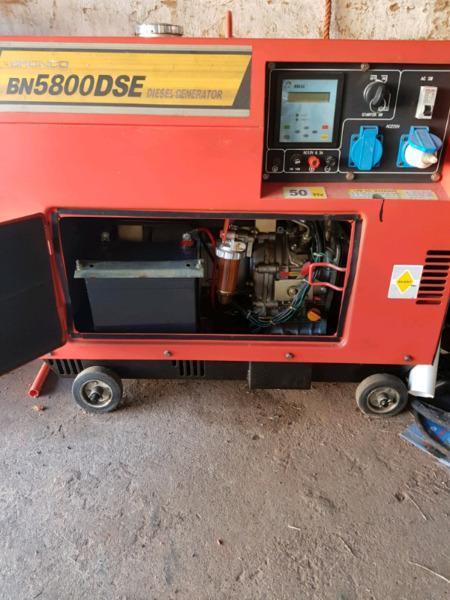 Generator to swap