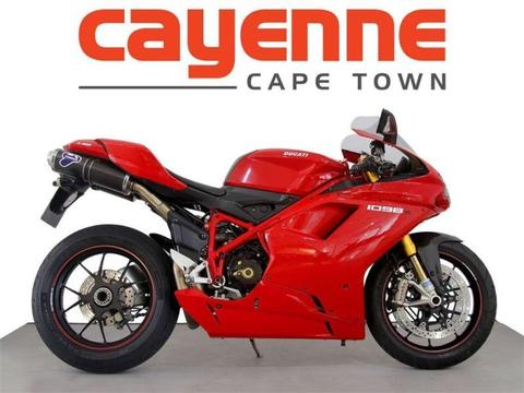 2011 Ducati 1098 S (Includes a R15000 Voucher T and C apply)