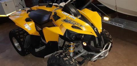 2008 Can-Am Renegade 800cc 4x4 Auto Quad Bike