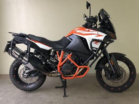 KTM1290R adventure motorcycle