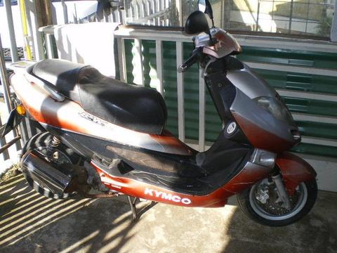 125CC KYMCO WATERCOOLED FOR SALE IN KLEINMOND
