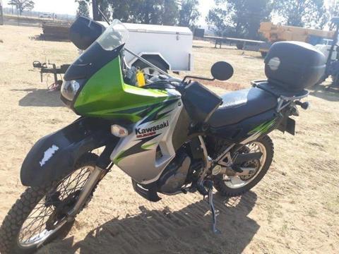 2008 Kawasaki KLR650 Motorbike
