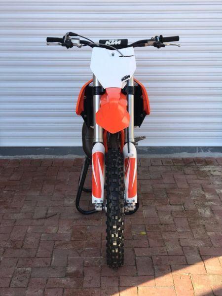 2018 125cc KTM Motocross Bike