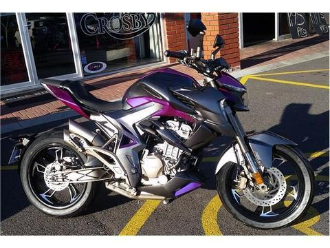 2018 Zontes 310R avail now at Bike Bros. N1 City
