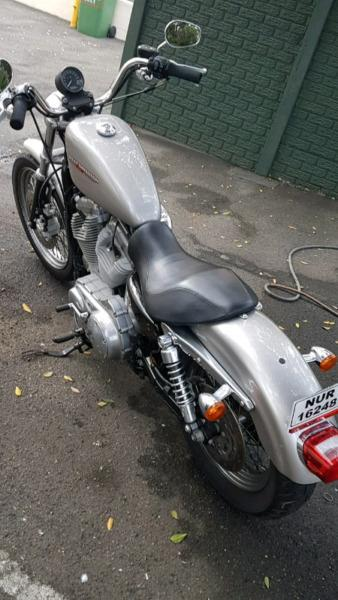 Harley davidson 883 low sportster motorbike