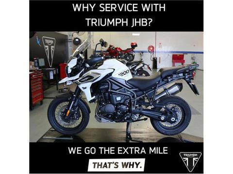 Triumph Motorcycles Services